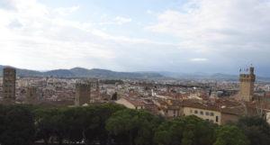 Panorama  Arezzo visto dalla ruota