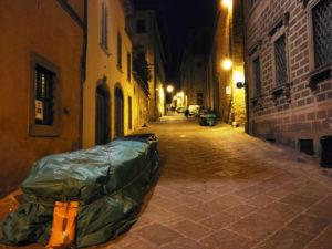 Arezzo Via Cesalpino fiera